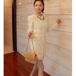 áo len form dài nữ tính Mã: AO2007