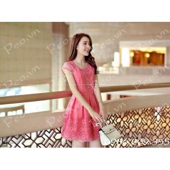 Mã số 580143 - Váy ren cao cấp hàng nhập