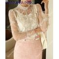 Áo kiểu thời trang sành điệu ms 80162
