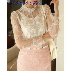 Mã MM80162 - Áo kiểu thời trang sành điệu