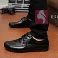 Giày lười da nam dây cột cao cấp Glado - G01