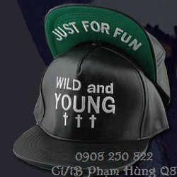 Mũ nón snapback Da Wild and Young GDragon hàng nhập cung cấp sỉ lẻ