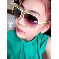 kính mát nữ thời trang kcc_xanh lá