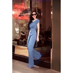 JumpSuit Ngọc Trinh - Cotton Lạnh Cao Cấp - HR153
