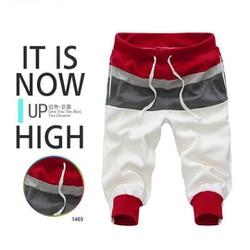 quần lửng nam kiểu hàn quốc Mã: NL0214 - Đỏ