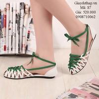 Giày sandal kết dây trẻ trung