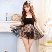 Váy Ngủ Gợi Cảm Ren Hoa Xoè