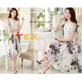 Hàng nhập cao cấp: Đầm maxi điệu đà thời trang 2015 IT32