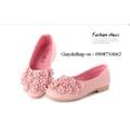 Giày búp bê hoa nổi 3D Hàn Quốc