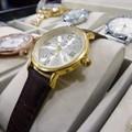 Đồng hồ nữ Patek dây da Pat01