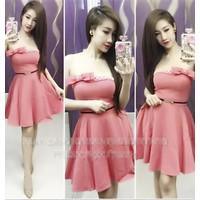 Đầm xòe xúp ngực đính nơ Ngoc Lang Phuong