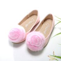 Giày đế thấp - búp bê trẻ em CN1