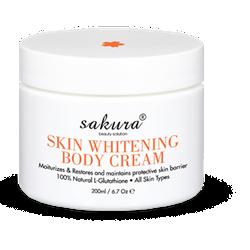 Kem Dưỡng Trắng Da Toàn Thân Sakura Skin Whitening L-Glutathione