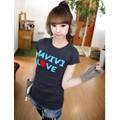 Áo thun nữ Hàn Quốc form ôm D 861