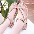 Sandals xỏ ngón hoa xinh yêu ms 90083