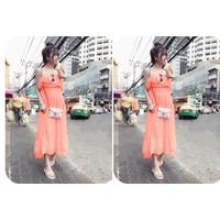Đầm Maxi Neon W2332
