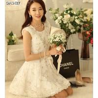 Đầm công chúa hoa nữ tính Mã: DA3427