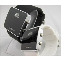 đồng hồ Led vuông Adidas