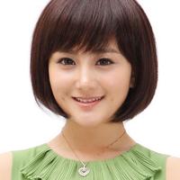tóc giả  nữ làm từ tóc thật Z025