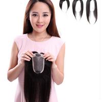 miếng hói làm từ tóc thật có đường ngôi ZH400