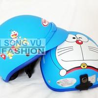 Nón Bảo Hiểm Doraemon Không Kính Thời Trang