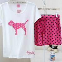Bộ đồ mặc nhà Pink xuất khẩu