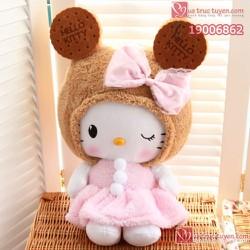 Mèo bông Hello Kitty Cookie