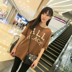 Áo thun nữ cá tính độc đáo phong cách HÀN QUỐC mẫu mới 2015