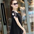 áo kiểu thêu hoa tinh tế SMT295