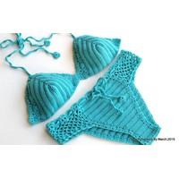 Bikini móc bằng chỉ Cotton - Handmade