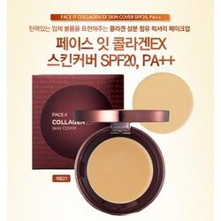 Phấn phủ Face It Collagen EX Two-way Cake xách tay Hàn Quốc