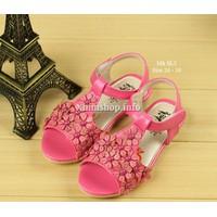 Sandal cho bé gái từ 3-5 tuổi kiểu dáng Hàn Quốc SL3