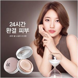 Kem trang điểm CC Cream Full Stay 24HR The Face Shop 2