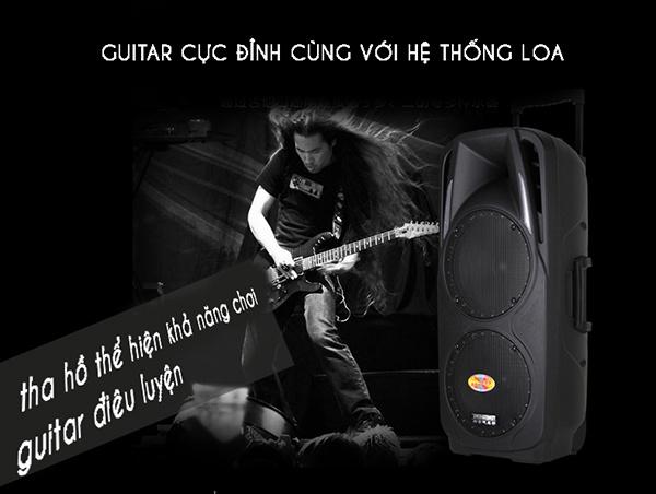 Loa Kéo Di Động Feiyang A73 2 Loa Bass 3
