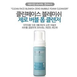 [The Face Shop] Sữa rửa mặt Clean Face Blemish Zero Bubble