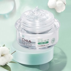 [The Face Shop] Kem dưỡng ẩm Chia seed moisture oil free cream