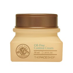 [The Face Shop] Kem kiểm soát nhờn Oil- free Control Cream