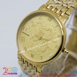 Đồng hồ Baishuns mặt rồng vàng - Mã số DH15135
