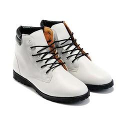 giày da nam cổ cao cá tính Mã: GH0146 - TRẮNG