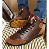 giày cổ cao nam sport ling di Mã: GH0181 - NÂU