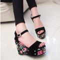 Giaydepxinh - SD106 - Sandal đế xuồng hoa