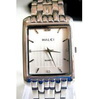 Đồng hồ Halei mặt vuông trắng