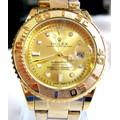 Đồng hồ Rolex tròn mặt vàng
