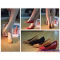 Hello247 shop : Giày cao gót mũi nhọn vàng  xuồng có 4 màu GC133