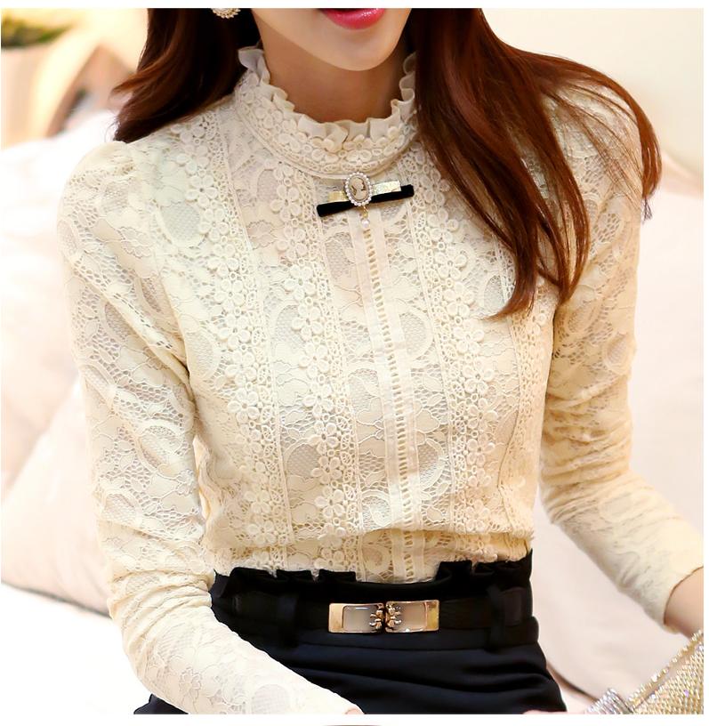 блузка с кружевом купить интернет магазин