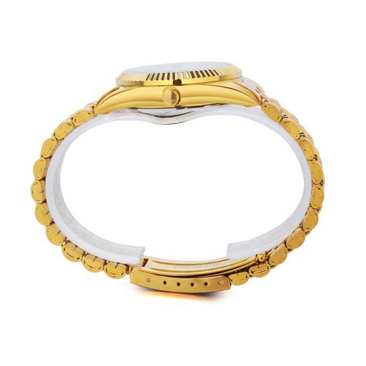 Đồng hồ nam cao cấp mạ vàng đính đá, chống thấm chống nước Bosck Japan 4