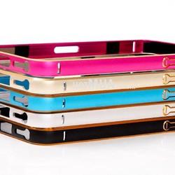 Viền Nhôm Siêu Mỏng Cho iPhone 5-5s Giả iPhone 6