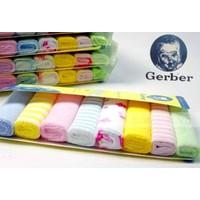 Set 8 khăn sữa Gerber cho bé