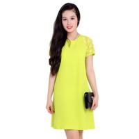 Đầm Oversize Tay Ren sang trọng có 2 màu