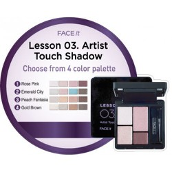 Phấn mắt lesson 03 Artist Touch Shadow